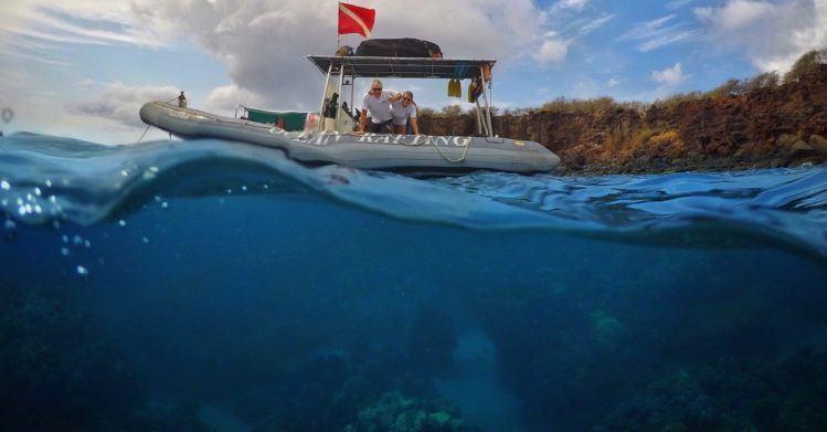 Hawaii Ocean Rafting - maui snorkeling