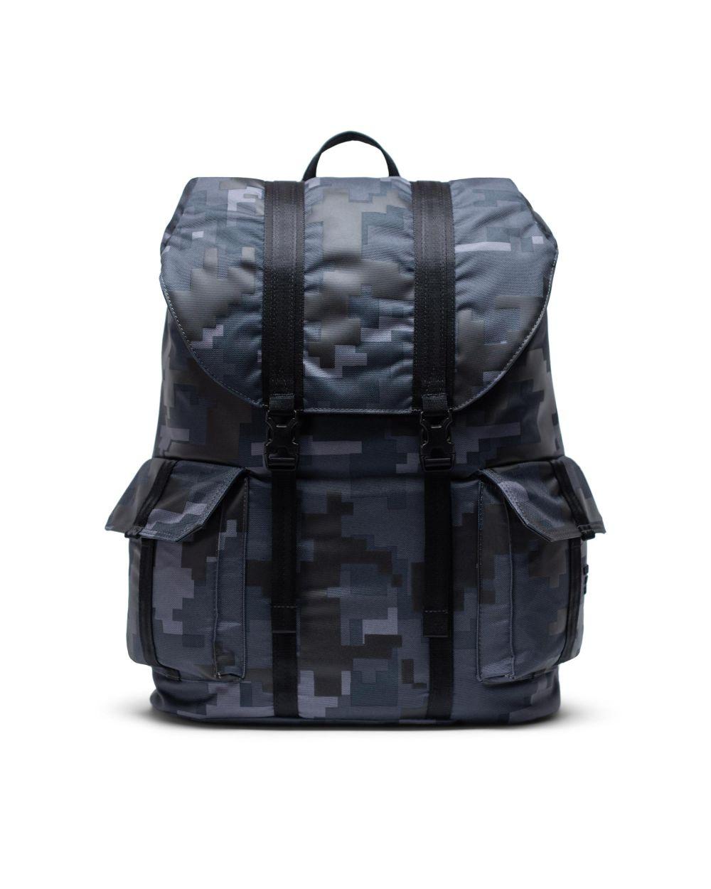 Herschel dawson backpack XL in blue army print