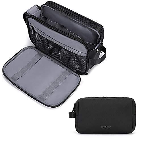 BAGSMART mens toiletry bag in black