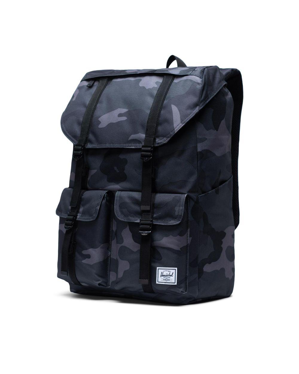 Herschel Buckingham backpack in grey army print