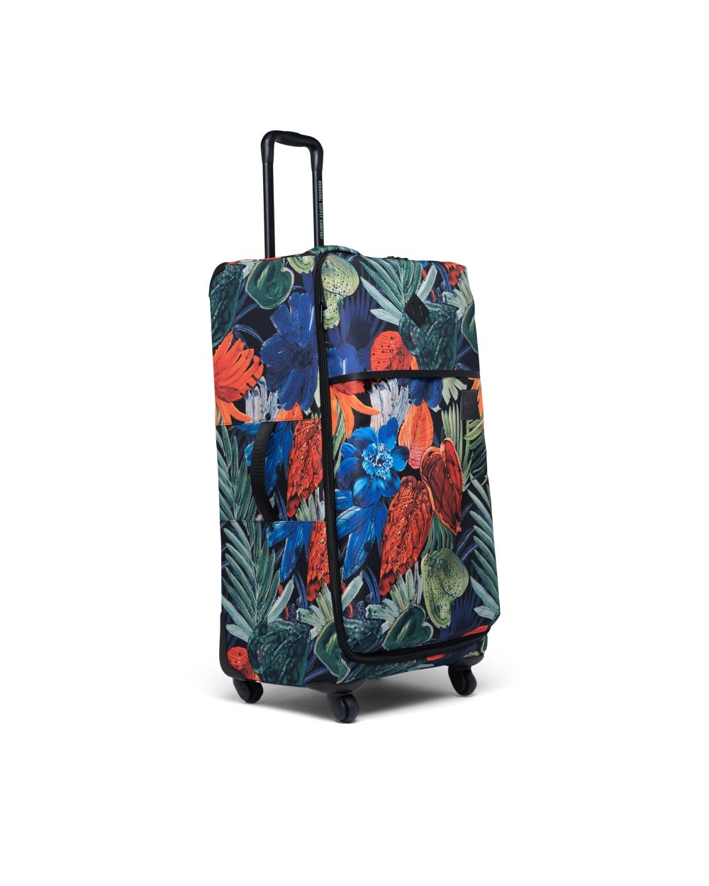Herschel highland luggage large in tropical colour print