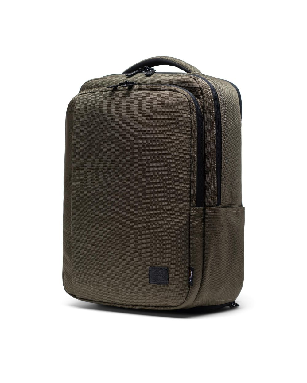 Travel backpack in grey
