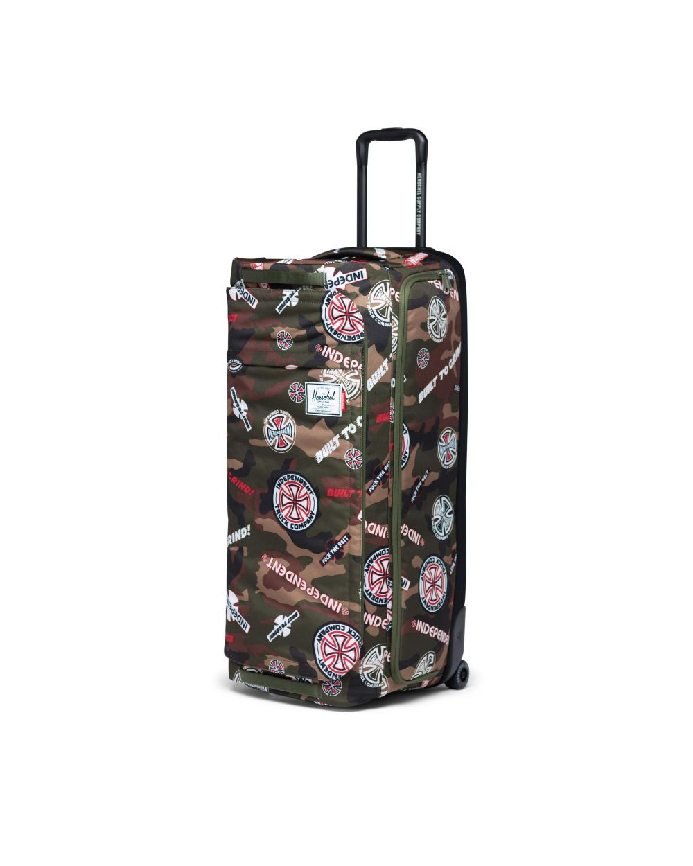 Herschel wheelie outfitter independent suitcase in multi coloured print