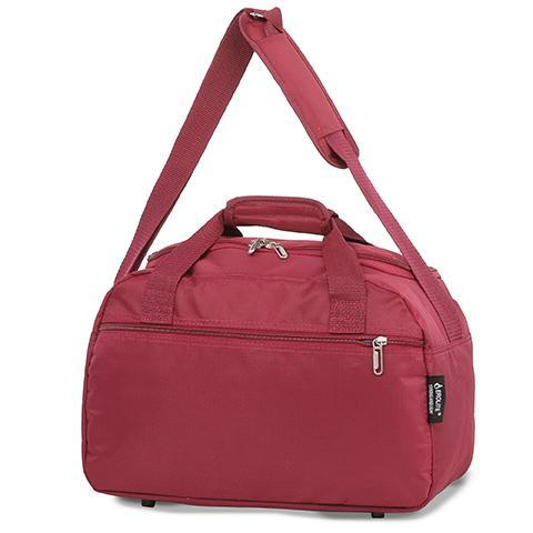 aerolite holdall bag in wine colour