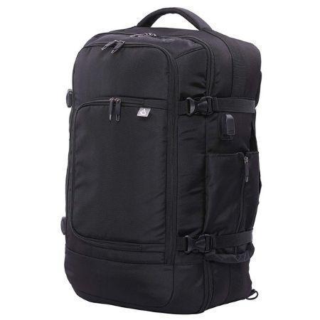 Aerolite laptop backpack in black