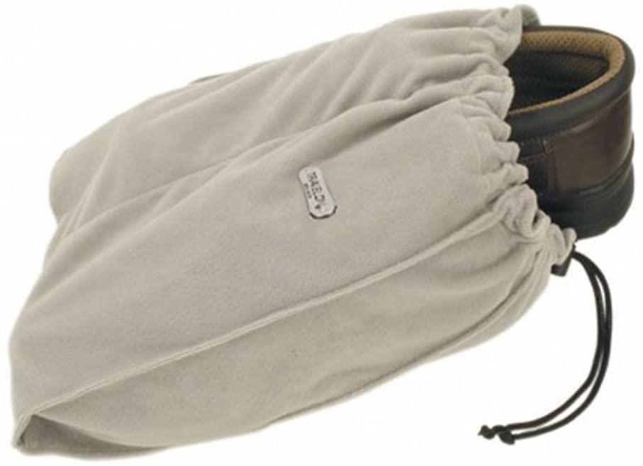 travelon soft shoe bags in beige
